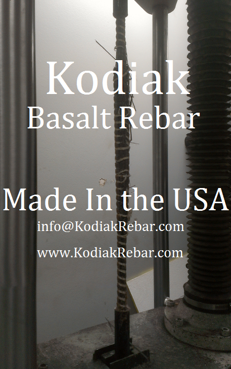 Basalt Rebar Tensile -Made in The USA