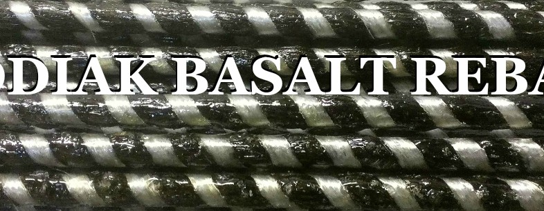 The Only American Basalt Rebar,  Made in USA,  Kodiak Rebar -Since 1984-